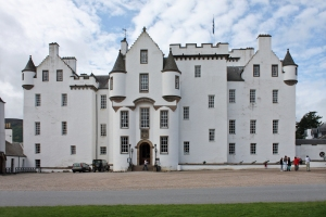 Blair castle, Scotland - main facade